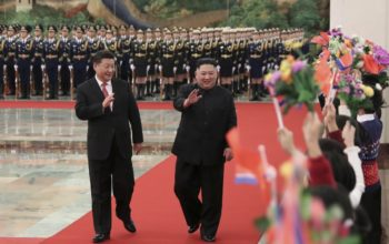 Xi in North Korea